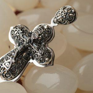 Православные серебряные крестики. Авторские изделия.