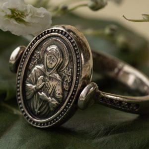 Православные серебряные кольца